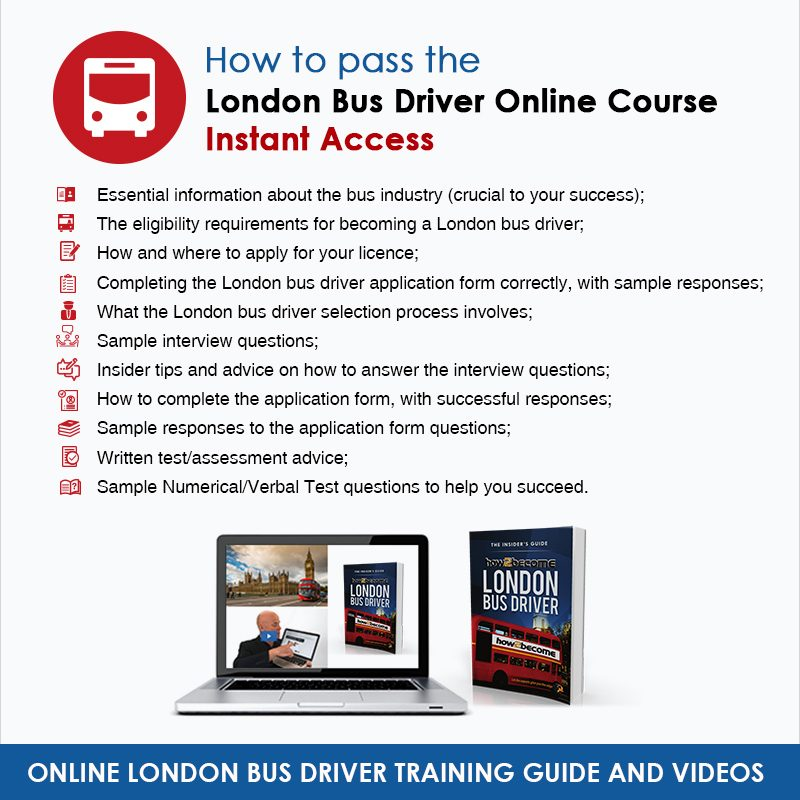 Online London Bus Driver Instant Access