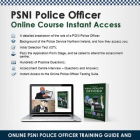 PSNI Police Officer Online Course Instant Access banner_800x800
