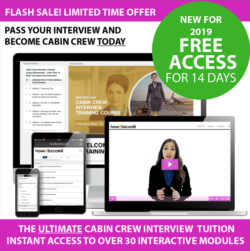 Cabin Crew Interview Questions Practice - How 2 Become