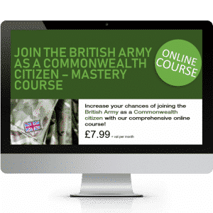 oin the British Army as a Foreigner Mastery Course