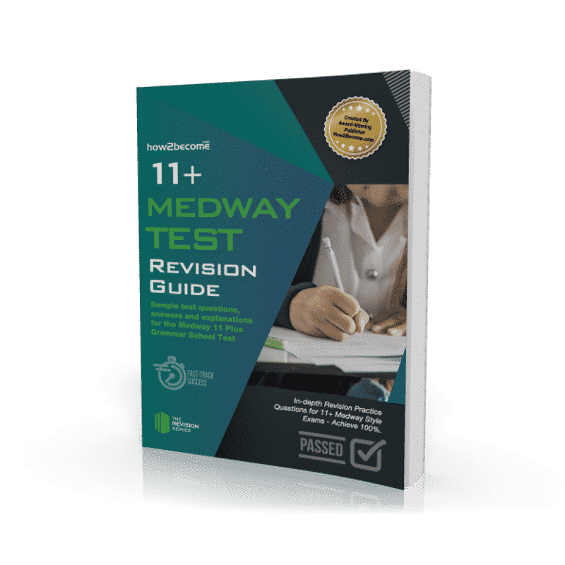 11+ Medway Test Revision Guide Workbook