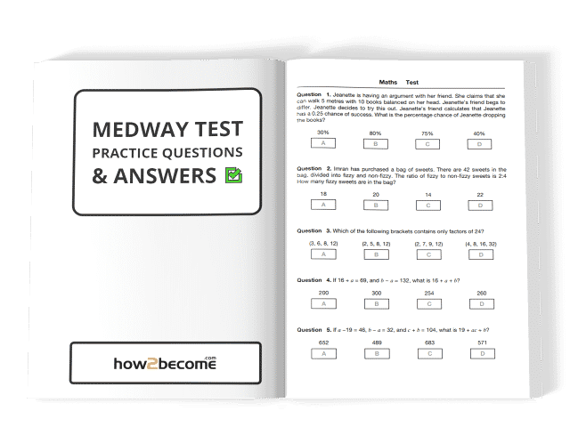 Medway 11 Plus Practice Questions and Answers PDF