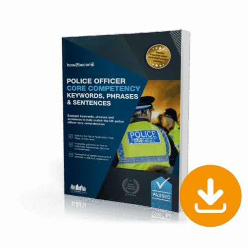 Police Officer Core Competency Keywords, Phrases and Sentences Download