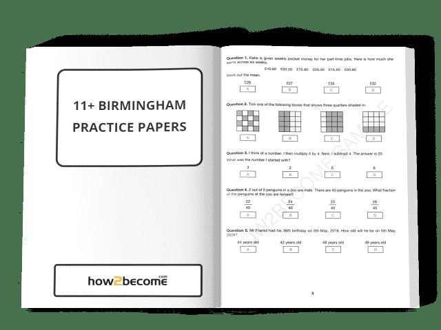 11 Plus Birmingham Practice Papers PDF