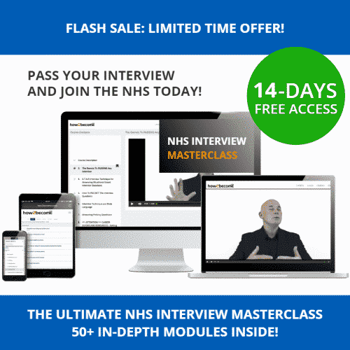 NHS Interview Questions and Answers Masterclass 14 Days Access