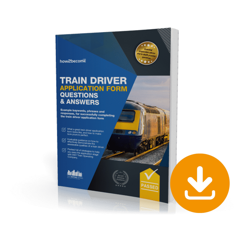 Train Driver Application Form Questions and Answers Download