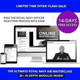 Royal Navy Officer Selection Process Online Course