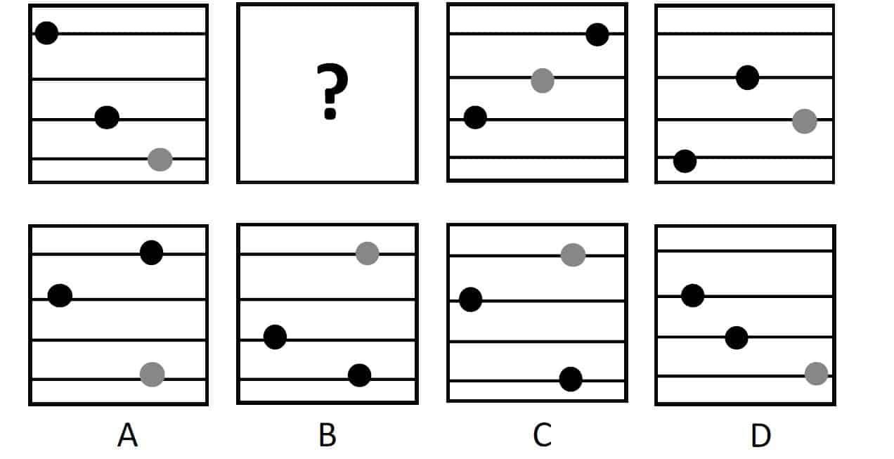 Non-Verbal Reasoning – Incomplete Sequence - Q4