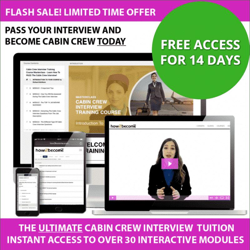 Online Cabin Crew Interview Questions Practice