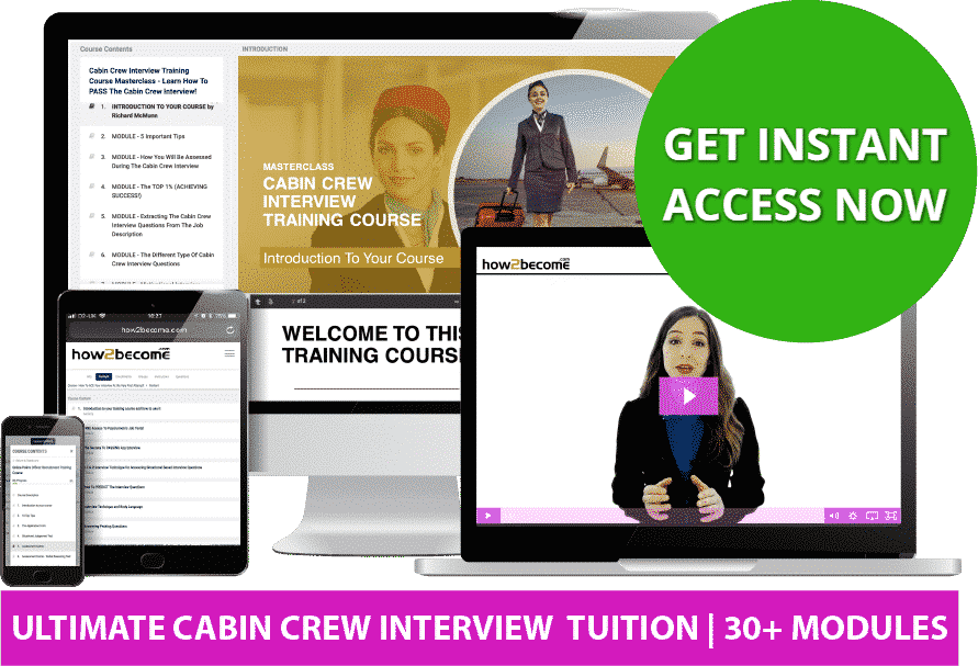 Online Cabin Crew Interview Questions and Answers Examples
