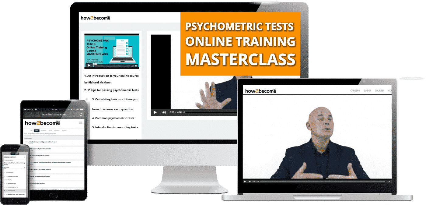 Online Psychometric Training Course