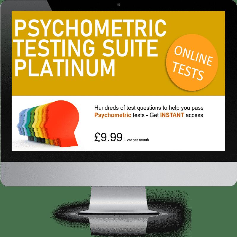 Psychometric Testing Suite Platinum Edition