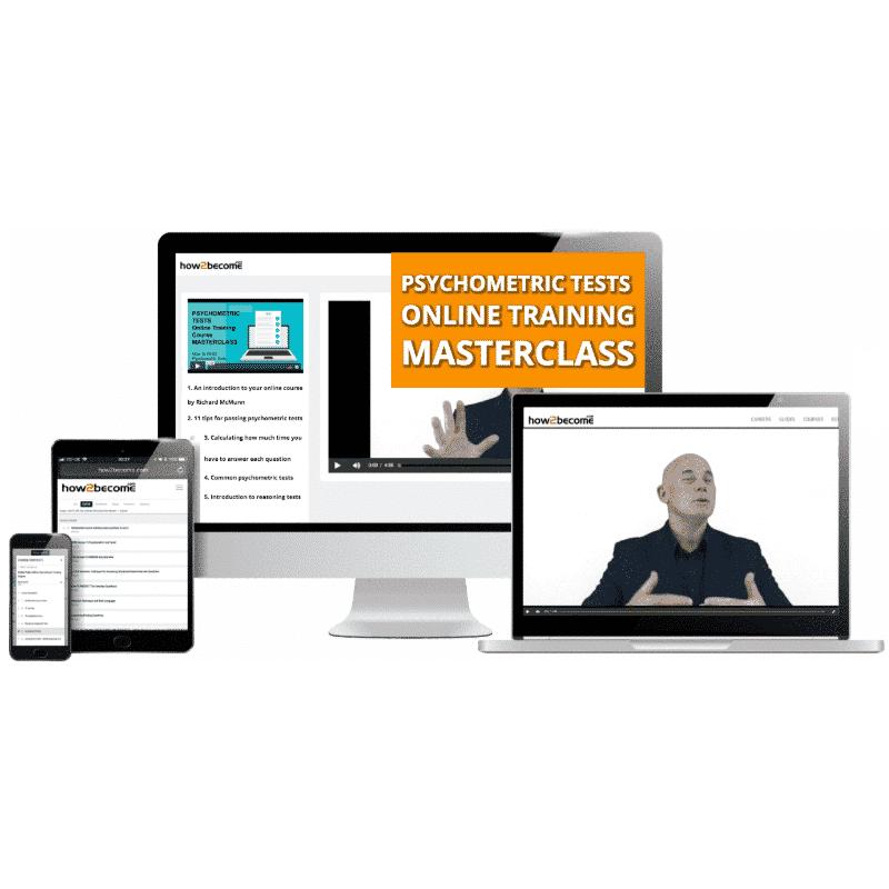 Psychometric Tests Online Training Masterclass