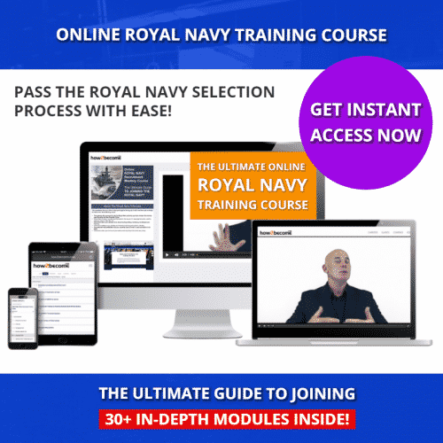 The ULTIMATE Online Royal Navy Training Course