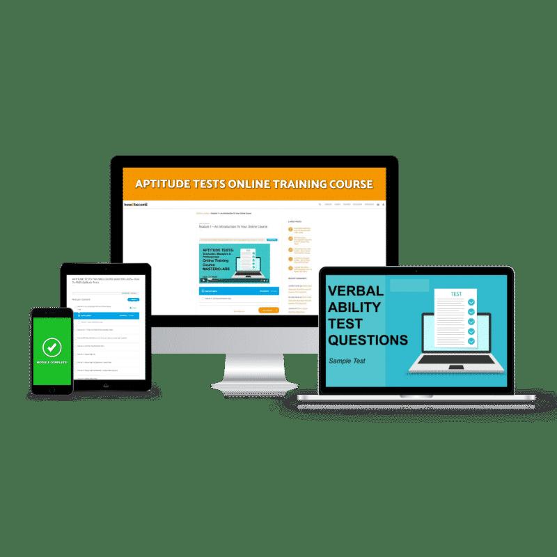 Aptitude Tests Online Training Course