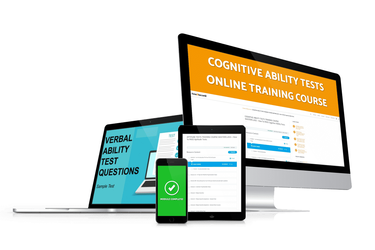 Cognitive Ability Tests Online Training Course