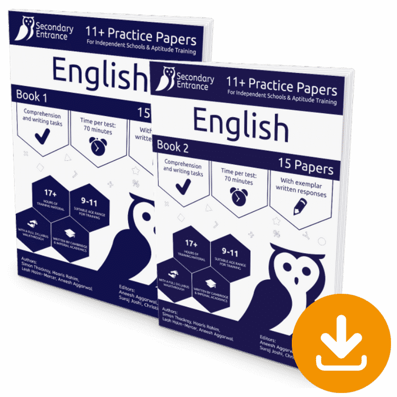 Independent 11+ English Pack Download