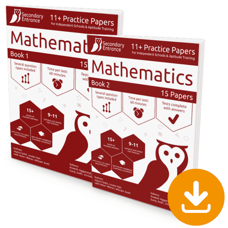 Independent 11+ Maths Pack Download
