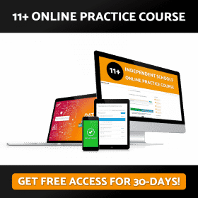 Independent 11+ Online Practice Course Free Access