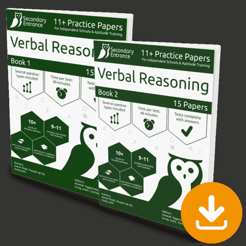 Independent 11+ Verbal Reasoning Pack Download