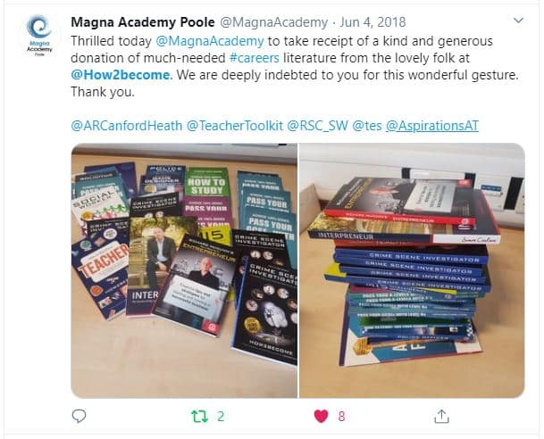 Magna Academy Gets Free Books