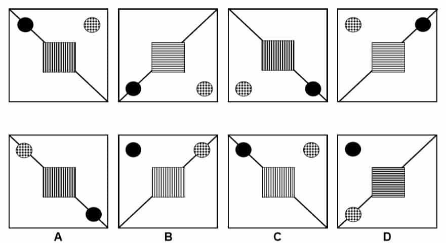 Non Verbal Reasoning Practice Question 1
