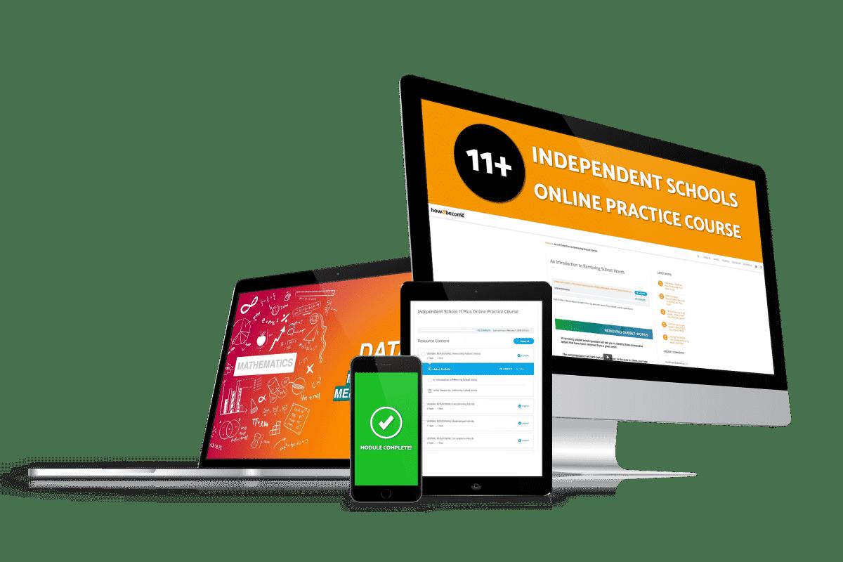 Private School 11 Plus Online Practice Course