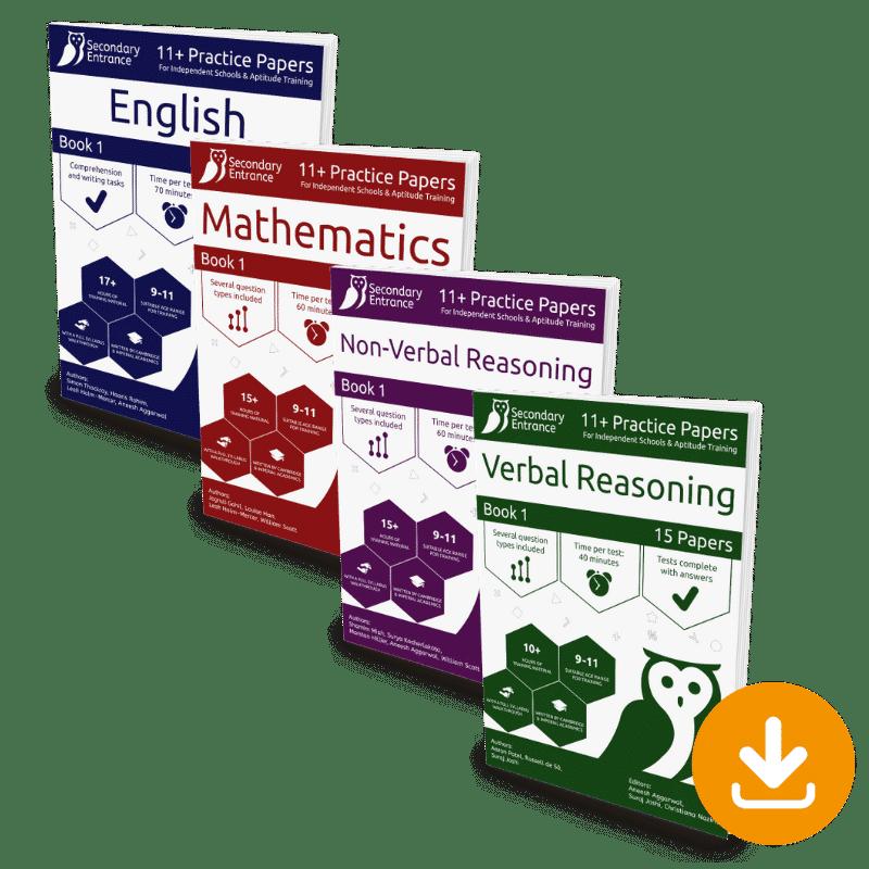 Private School Eleven Plus - Book 1 Set Download