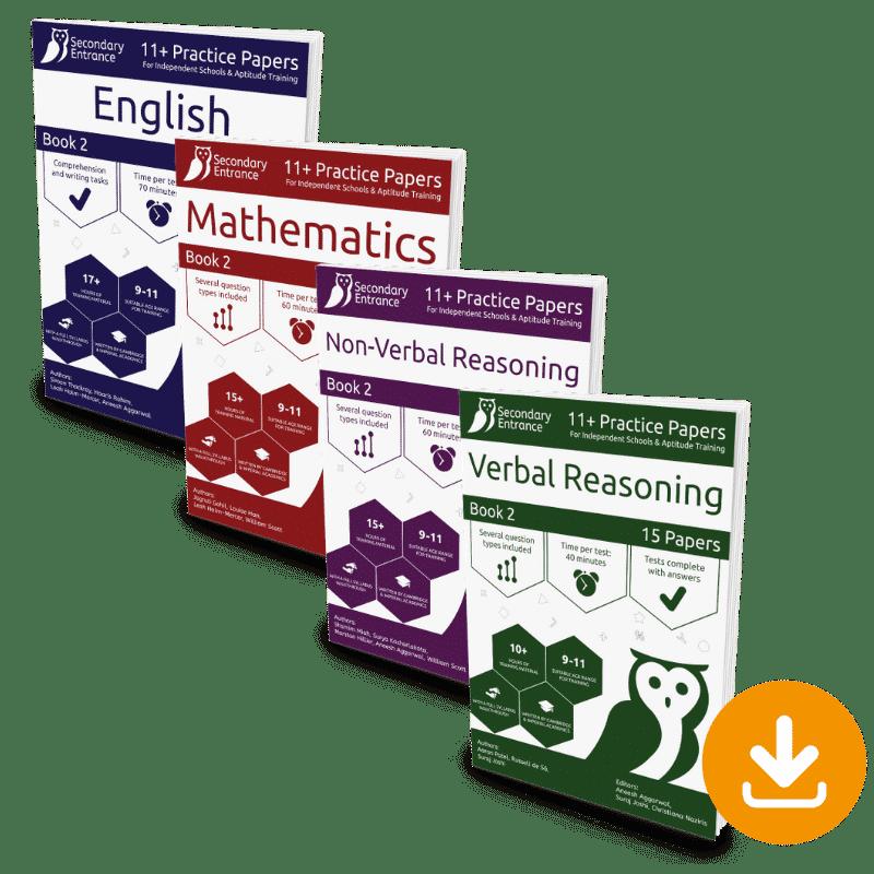 Private School Eleven Plus - Book 2 Set Download