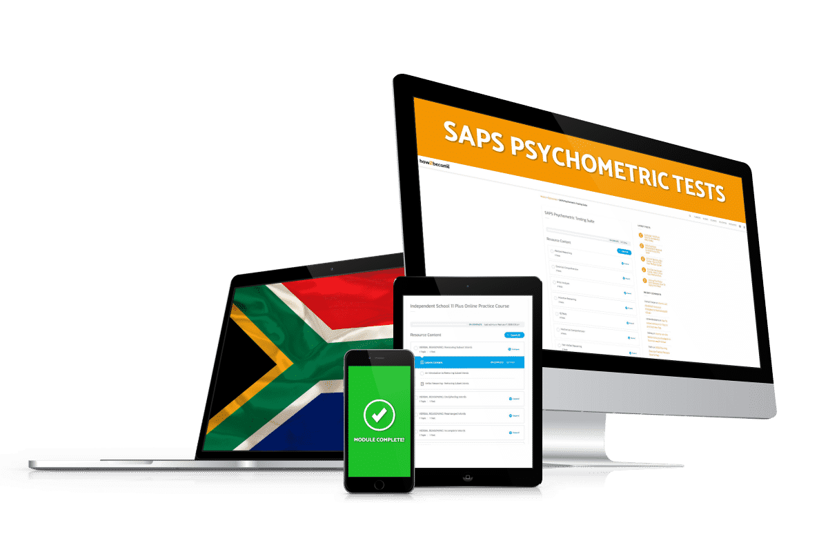 SAPS Psychometric Test Questions and Answers
