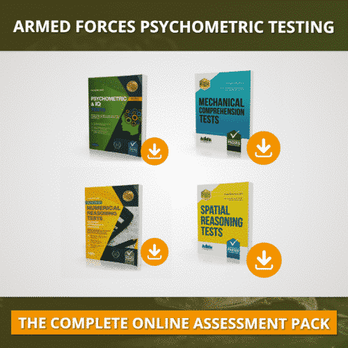 The Armed Forces Online Psychometric Testing Pack
