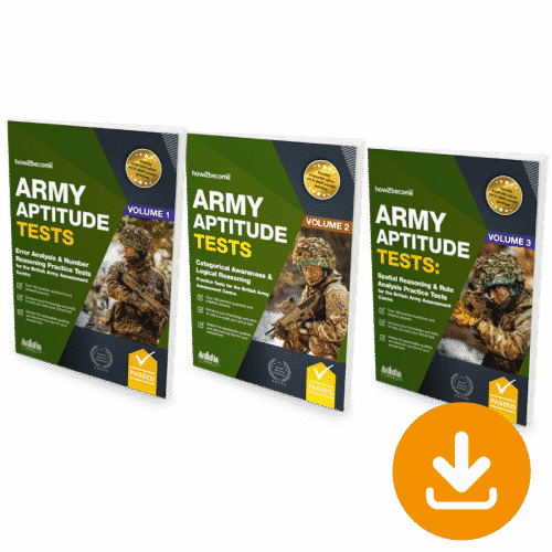 Army Aptitude Test Platinum Package Download