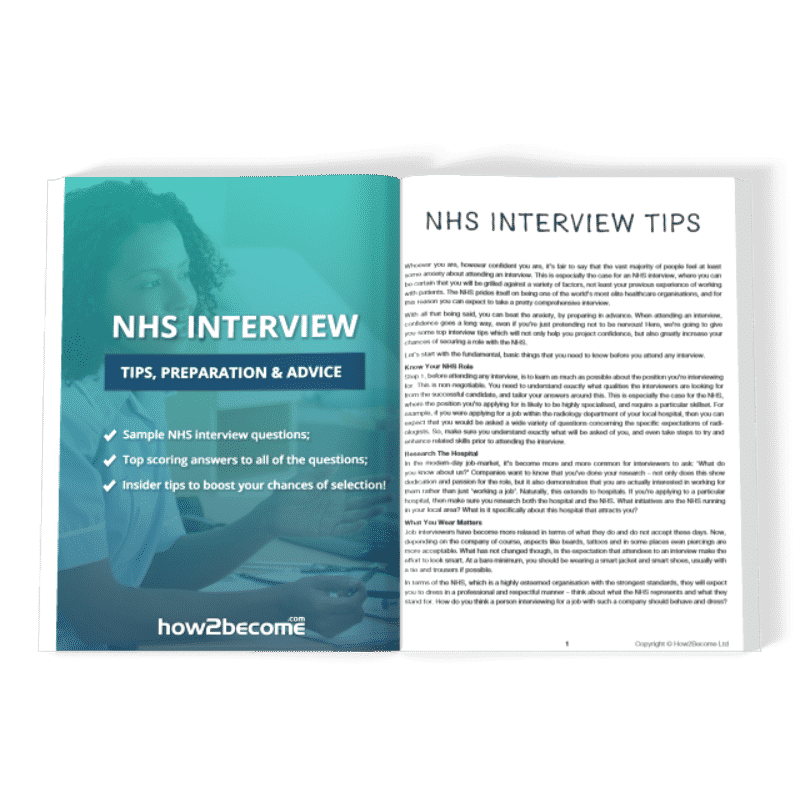 NHS Interview Tips Preparation and Advice Premium Download