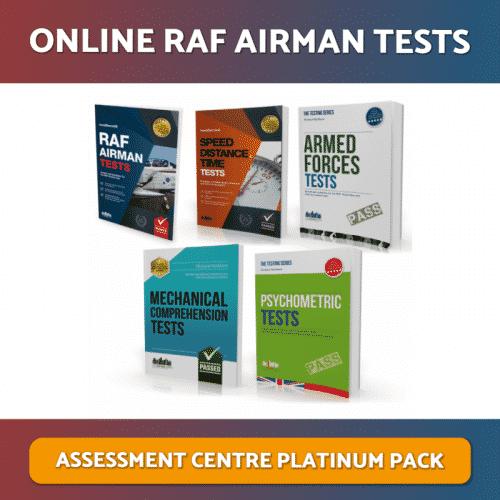 Online RAF Airman Tests Platinum Pack