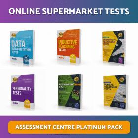 Online Supermarket Assessment Centre Tests Platinum Download Pack
