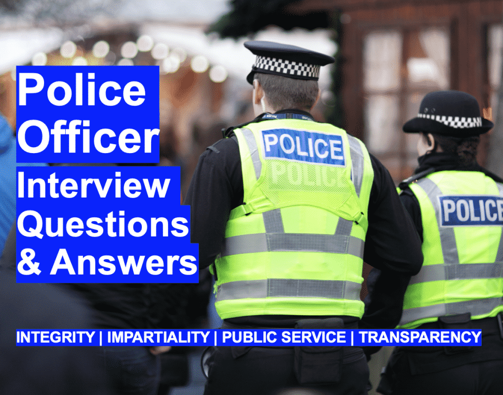 Police Officer Interview Questions Answers New Competencies Integrity-Impartciality-Public Service-Transparancy