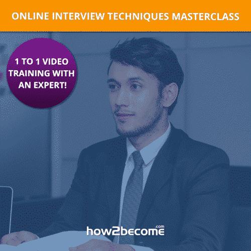 1 to 1 Expert Online Interview Techniques Masterclass