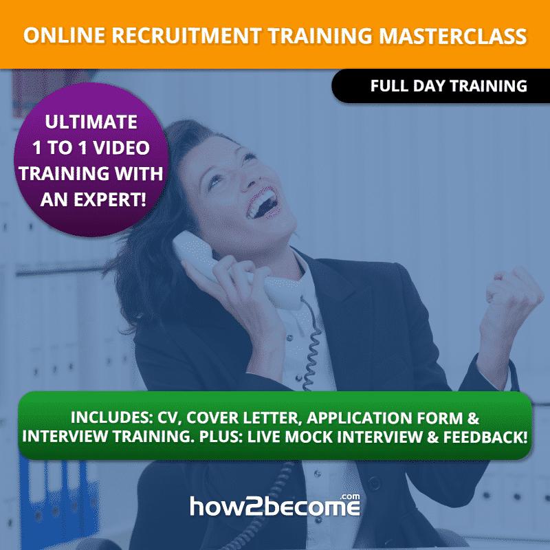 1 to 1 Expert Online Recruitment Training Masterclass