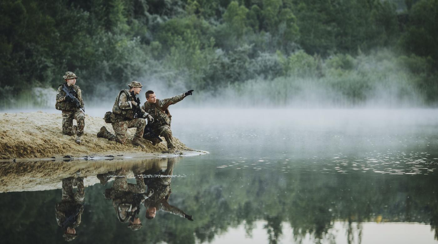 British Parachute Regiment Soldiers Paras Selection Training