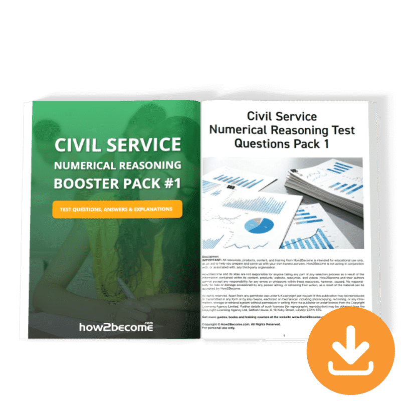 Civil Service Numerical Reasoning Booster 1 Download