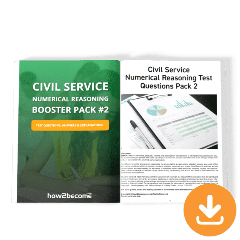 Civil Service Numerical Reasoning Booster 2 Download