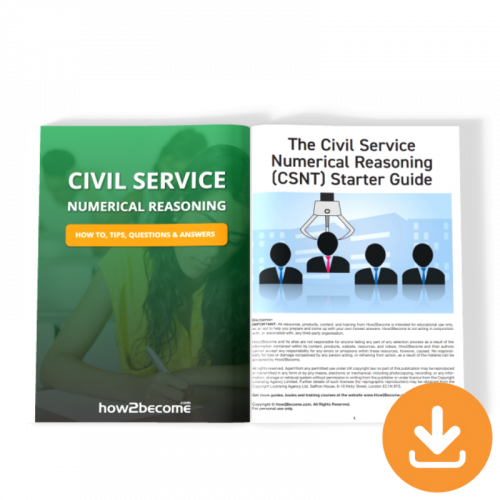 Civil Service Numerical Reasoning Test Guide Download