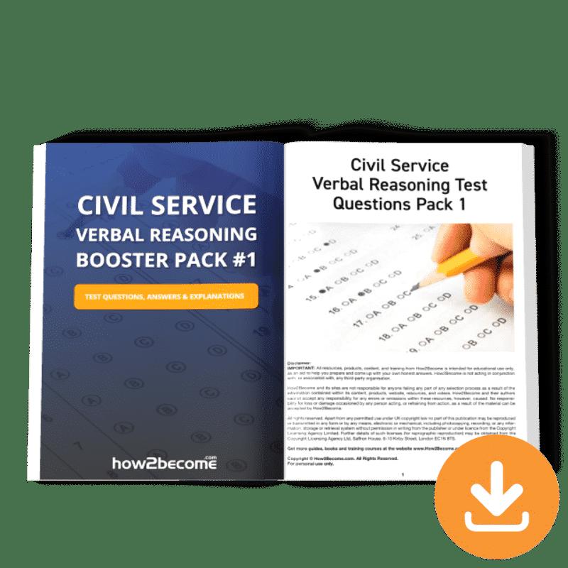 Civil Service Verbal Reasoning Boost Pack 1 Download