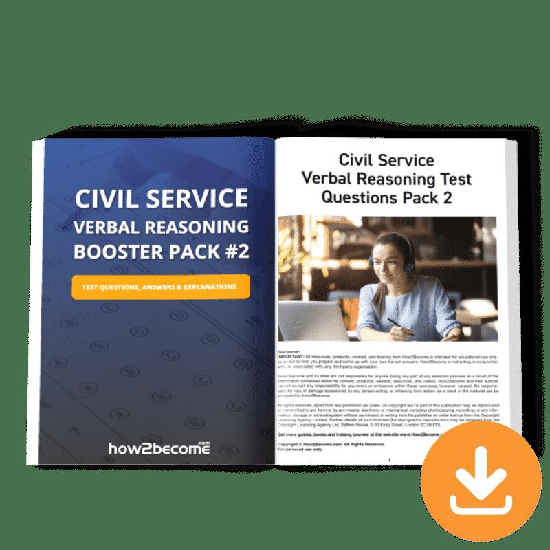 Civil Service Verbal Reasoning Booster Pack 2 Download