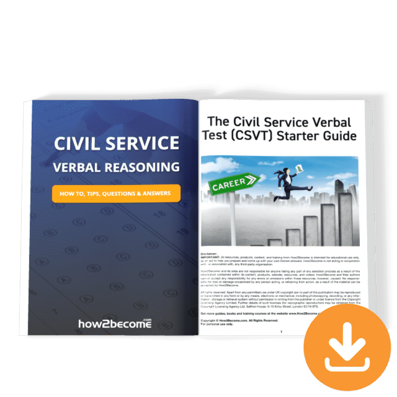 Civil Service Verbal Reasoning Test Guide Download