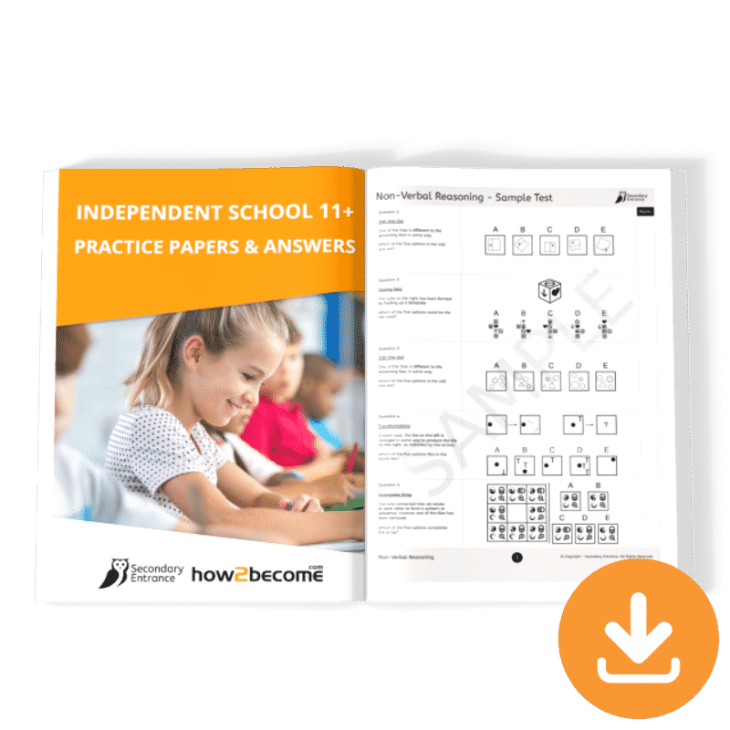 Free Independent School 11+ Practice Papers and Answers Download
