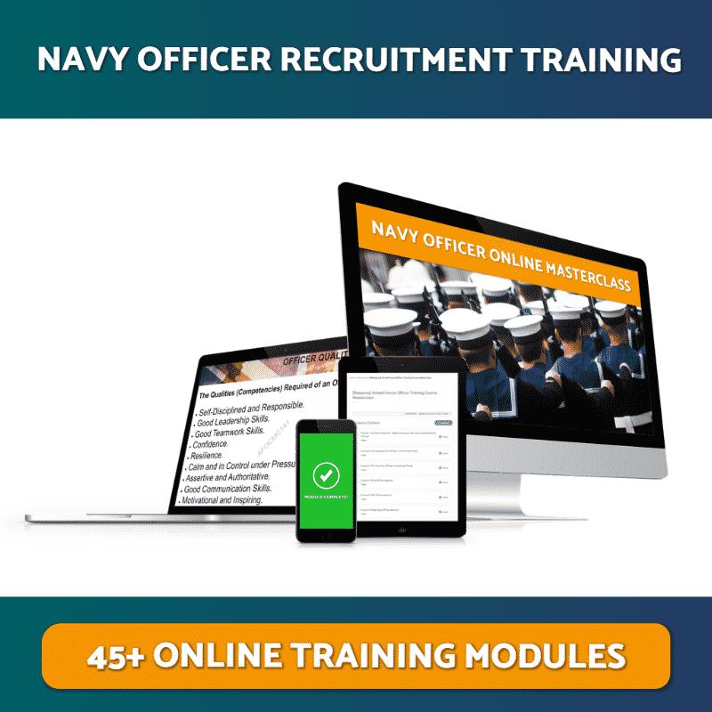 Navy Officer Recruitment Training Online Masterclass