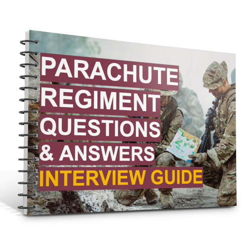 Parachute Regiment Questions and Answers Interview Guide