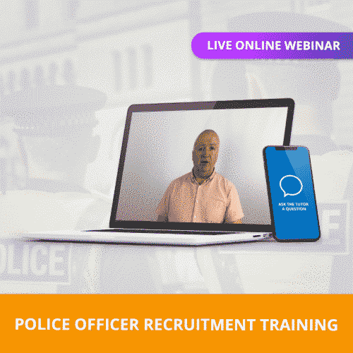 Police Officer Live Online Webinar Training