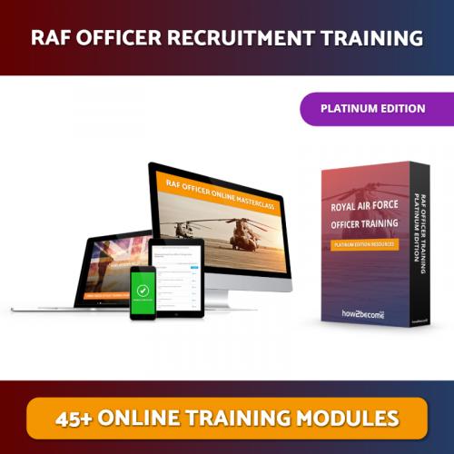 RAF Officer Online Platinum Edition Masterclass